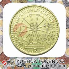 china manufacturer custom cheap replica metal fake gold coins