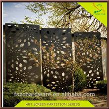 Stainless Steel Modern Garden Decorative Wall Panel/Screen Partition