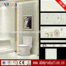 300x600mm ceramic bathroom wall tile borders foshan factory