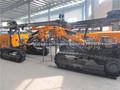 Kg940a alta presión neumática Crawler taladro / de China móvil Mineral de exploración Crawler equipo de perforación