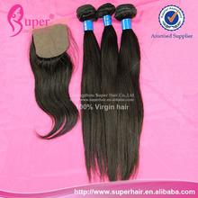 6a virgin brazilian hair bundles with silk closure,best brand of hair extensions,100 human hair yaki straight