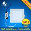 seamless welding 3W square led ceiling light