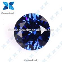 2mm cz stone sapphire blue zircon