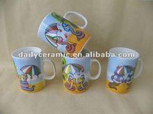 lovely snake design new bone china mug