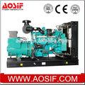 3 phase, 6 cylindres diesel moteur électrique dynamo. générateurs pour la vente