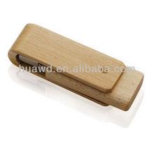 popular wedding gift wooden usb flash drive with box custom natural wood usb memory stick 2g usb flash drive