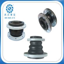 resistance tube din 2533 pn16 flanges compensator rubber vibration reducer