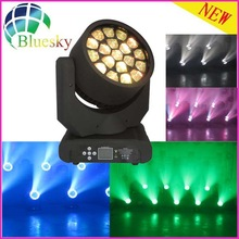dj equipment Bee eye Zoom wash 19pcs Led moving light