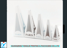 2014 white new design La tour Eiffel tower shaped gift boxes for travelling