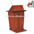 De lujo de madera maciza de la iglesia pulpit diseño hcgb- 9903