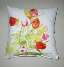 Tulipano ht14-532 disegno della stampa deco cassa del cuscino
