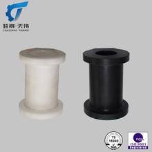 ISO9001 PVC DELRIN ROLLER raw material machining parts