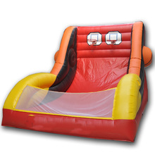 Inflatable Double Basketball Toss Game
