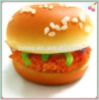 Plastic model toy Hamburger, replica food model