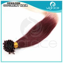 2014 Aliexpress hair qingdao hot virgin remy hot fusion Hair Extensions U-Tip