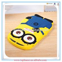 For Ipad mini Despicable Me Minion 3D Soft Silicone Protective Case