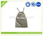 Foldable resealable custom jute bag printing promotion gift bag