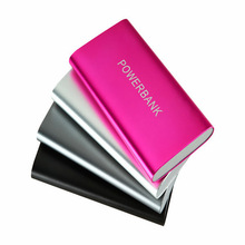 wholesale 5 colors portable universal mobile power bank charger 6000mAh