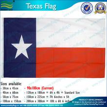 polyester Texas sate flag