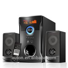 Dancing 2.1 speaker with multimedia audio controller driver ,outdoor speaker