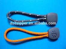 designer metal zipper pull