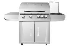 Easy assembled easy cleaned 5 Burner Gas Barbecue Grill