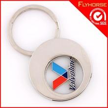 Custom Promotion Enamel US Valvoline Keychain