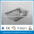 valioso takeaway embalagens de alumínio recipientes descartáveis de alumínio