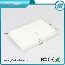 15600mah dual output Steamed Bread Power Bank laptop no name brand
