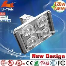 Outdoor Waterproof high power newest design 120w led flood light circuit