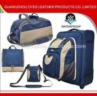 New arrival waterproof multifunctional personal travel set bags