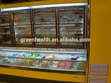 Solar refrigerator freezer with good preservation effect for supermatket/shop