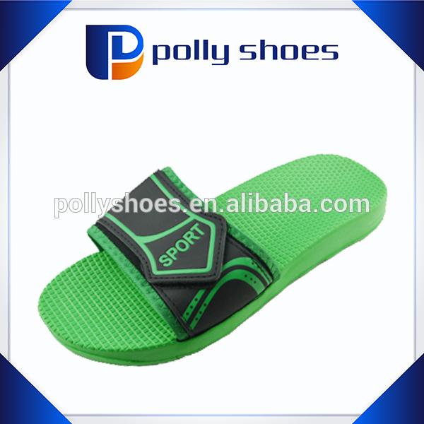 new velcro strap eva hotel slipper for adult design 2014