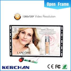 7 Inch Open frame Hot Video Player/9 sunvisor car tft lcd monitor