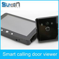 5 inch hd Home Door Surveillance Camera PeepHole Door Viewer motion detector