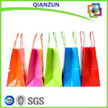 Custom Polyester Shopping Bag/Colorful Bag Online Shopping