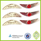 Custom pilot uniform plastic wings arm badge