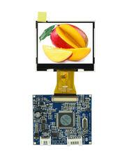 Best video door phone 2.4 Inch flexible transparent lcd display