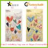 2014 High quality heart shape crystal sticker, photo decoration Epoxy sticker