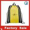 new design &cheap polyester drawtring bag /shopping promotional tote bag