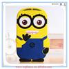 Despicable Me 2 Minions 3d silicone soft Case For ipad mini