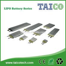 3.7v 130mah polymer rechargeable lipo battery