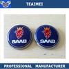 2014 SAAB blue chrome car badge emblems custom car logo badge