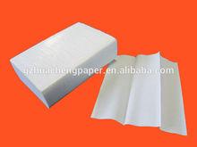 multi-folded Paper Towel N fold Z fold M fold hand paper towel tissue