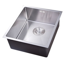 Low price promotional Single bowl 380X440X200mm Under mounted double sink bathroom vanity top