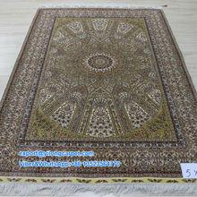 5'x7.5' Handmade Art Hand Knotted Persian Carpets Hand Made Rug