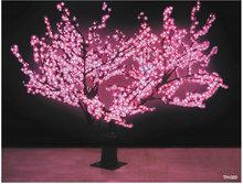 LED Cherry Tree,led cherry blossom tree light pink 1.2m high led cherry tree