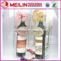 buona qualità clear box in pvc trasparente pp contenitore di vino