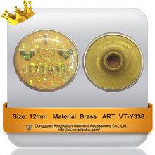 12mm sequins plastic drop purse copper rivet