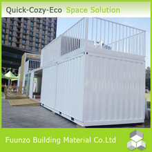 20ft Galvanized Decorated Demountable Used Container Office Price